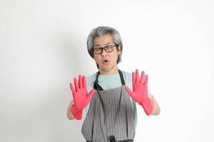 Senior Asian Housekeeper photo