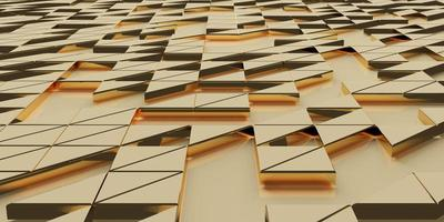 golden triangle pixel geometric abstraction Elegant and sophisticated photo