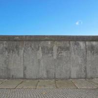 The Berlin Wall in Berlin, Germany photo
