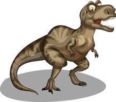 Funny Dinosaurs cartoon character. dinosaur, triceratops, stegosaurus. vector