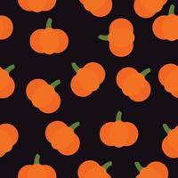 cute little pumpkin seamless pattern background vector