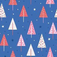 Christmas pattern. Christmas background. Christmas wallpaper vector