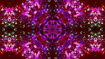abstrakt texturerad mångfärgad looped bakgrund. video