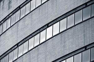 Modern building view of architecture photo