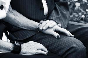 Lasting love in old age photo
