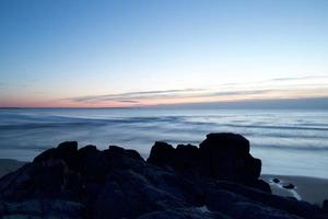 hermoso paisaje marino natural foto