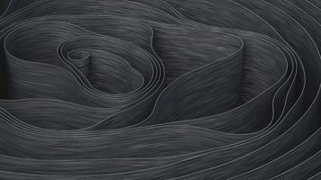 Animated abstract background of a spiral waving and moving video