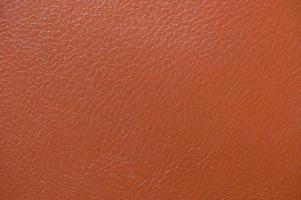 Textura de fondo de cuero de color marrón y beige foto