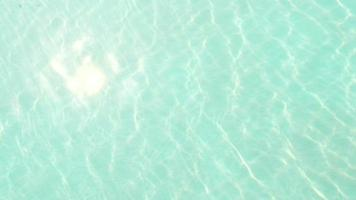 Abstract pool water crystal clear with sunlight reflect video