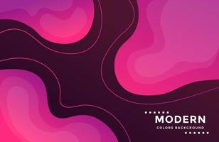 Dynamic modern background with colorful fluid shapes vector