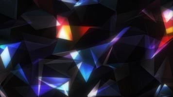 Abstract Polygon geometry animated background video