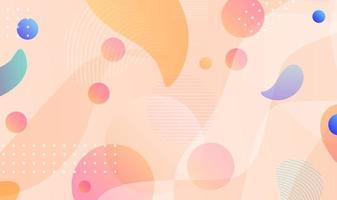 gradient pink wave liquid abstract background vector