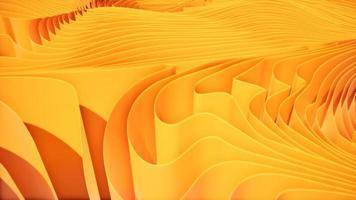 movimiento sobre ondas naranjas abstractas 4k video