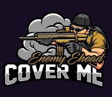 cover me esport vector