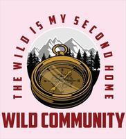 wild community logo vector