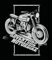 advanture motorbike street motorcycle vector