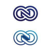 Infinity Design Vector design logo business and symbol