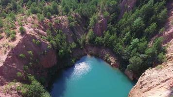 bellissimo drone paesaggistico naturale video