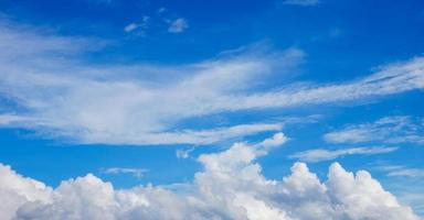 bright blue sky for background photo