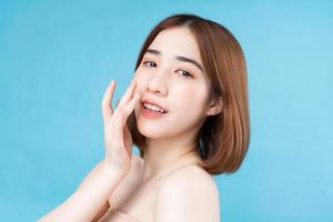 Attractive young Asian woman photo