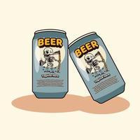 Beer Illustration Cartoon vector