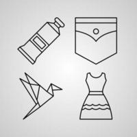 Icons for personal and commercial use vector