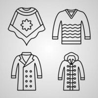 Handcrafts Symbol Collection On Handcrafts Outline Icons vector