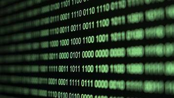 codice binario da vicino video