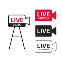 tv news banner interface , news label strip or icon, live news vector