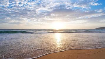 Amazing tropical beach sea photo