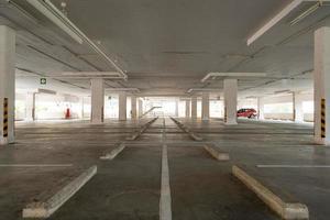 garaje de estacionamiento tienda departamental foto