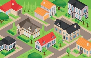 Private House Illustration vector