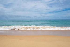 playa de arena de verano mar increíble foto