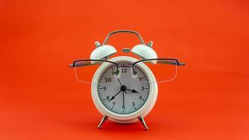 Concept Education or business Alarm clock photo