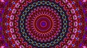 abstract textured pink kaleidoscope background. video