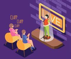 Quiz TV Show Background vector