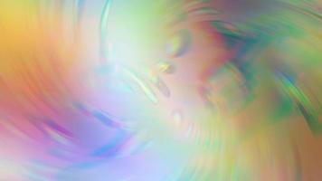 abstrakt mångfärgad symmetrisk kalejdoskop bakgrund video