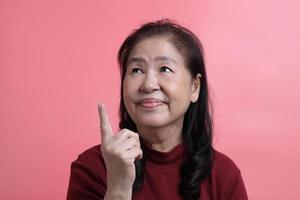 Asian Woman Portrait photo