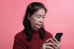 retrato de mujer asiática foto