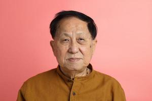 retrato de hombre asiático foto