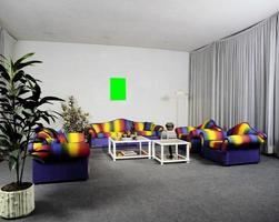 comedor de diseño moderno, dormitorio, juegos de sala de estar foto