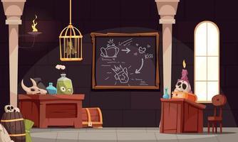 Magic School Class Composition vector