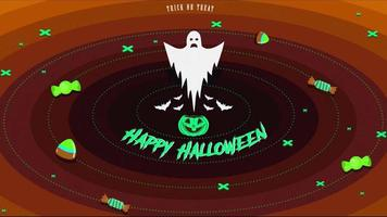 Happy Halloween party video free template