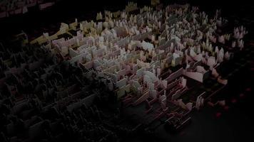 3D -bakgrundsslinga video