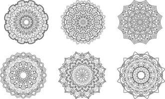 Decorative mandala collection vector