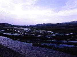 vistas del este de turquía, lagos, montañas, ríos. foto