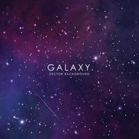 Galaxy Vector Background