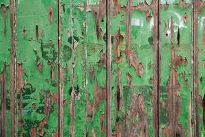 pared de los viejos tableros foto