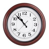 Five minutes to eleven on the clock photo