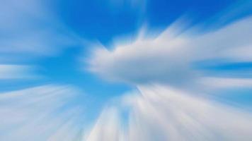 abstracte blauwe lucht voor achtergrond video